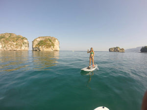 "Paddle in the gorgeous National Park ""Los Arcos"" with Oscar"