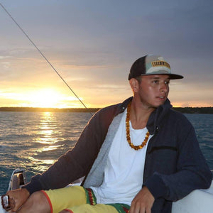 Magnificent discovery of the Bacalar Lagoon aboard Roberto's sailboat
