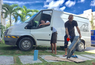 3 days VanBalam : Campervan the Yucatan with Omid & Lut !