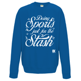 Doing Sports just for the Stash Sweatshirt - Oxford Kit