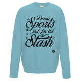 Doing Sports just for the Stash Sweatshirt v2 - Oxford Kit