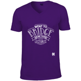Went to Bridge more than lectures T-Shirt - Oxford Kit
