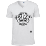 Went to Bridge more than Lectures T-Shirt v2 - Oxford Kit