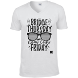 Bridge Thursday Essay Crisis Friday T-Shirt - Oxford Kit