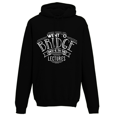 Bridge more than lectures Hoodie - Oxford Kit