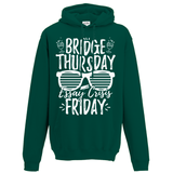 Bridge Thursday essay crisis Friday v2 Hoodie - Oxford Kit