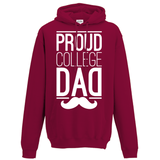 Proud College Dad Hoodie - Oxford Kit