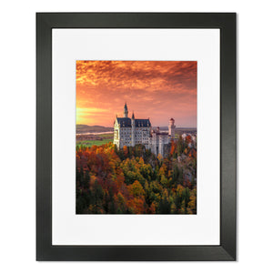 Print - Neuschwanstein Castle Sunset