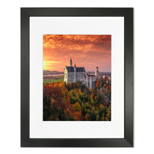 Prints - Sunset at Neuschwanstein Castle, Germany