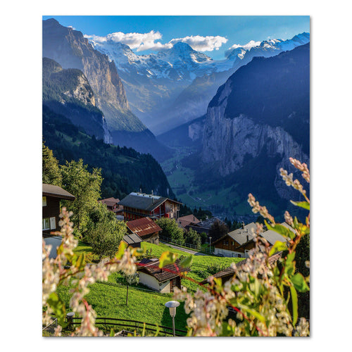 Print - Wengen, Switzerland