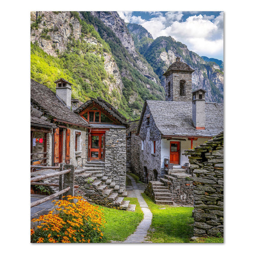 Print - Foroglio, Switzerland