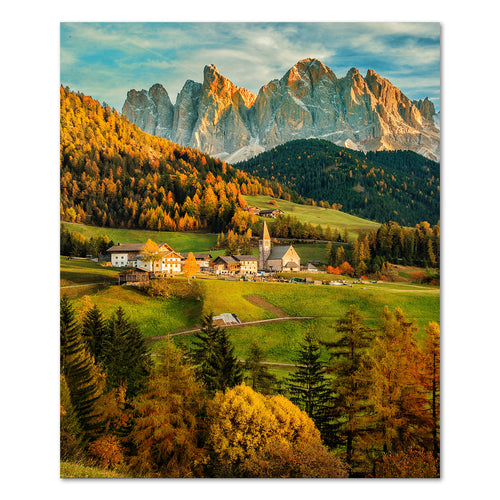 Prints - Fall in Dolomiti, Italy
