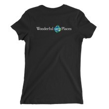 Wonderful Places Ladies T-shirt -  Back Graphic