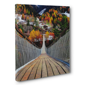 Prints - Goms Bridge, Switzerland