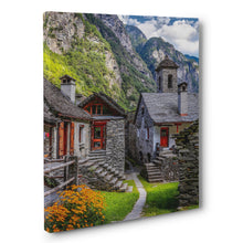 Prints - Beautiful Village in Foroglio, Switzerland