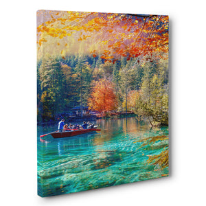 Print - Lake Blausee, Switzerland