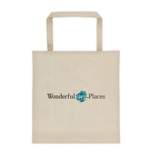 Wonderful Places Tote Bag