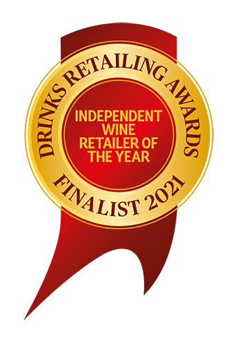 DRA 2021 Finalist Independent Wine Retailer of the year logo