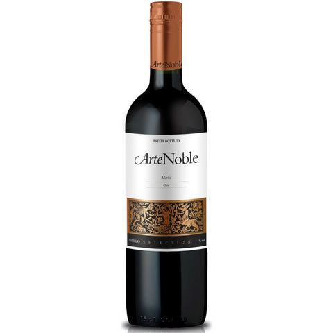 Merlot - Arte Noble - Vina Requinqua - Curico Valley - Chile