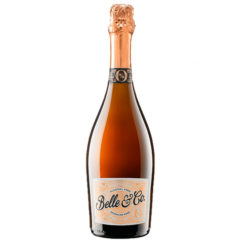 Non Alcoholic - Sparkling Rose - Belle & Co
