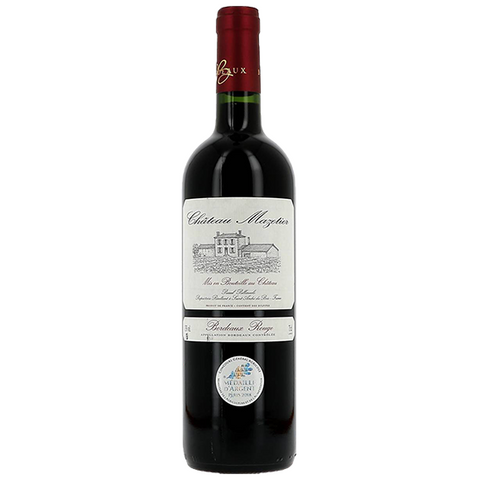 Merlot - Bordeaux - Chateau Mazetier - Cru Bourgeois - Bordeaux - France