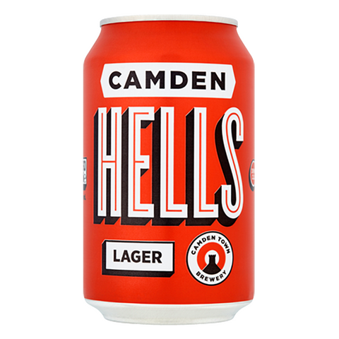 Lager - Hells - Camden -  Cans