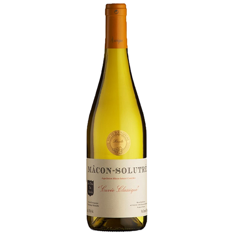 Chardonnay - Macon Solutre - Maison Auvigue - HALF BOTTLE