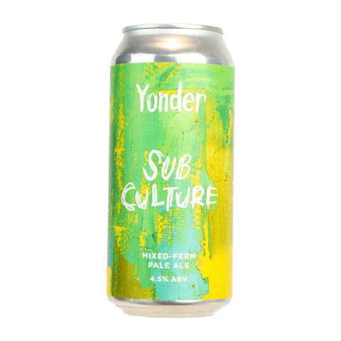 Sub Culture - Mixed Fermentation Pale - Yonder Beer