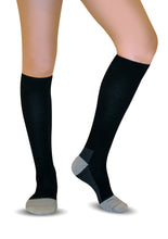 Knee High Compression Socks for Men & Women - 2 PACK