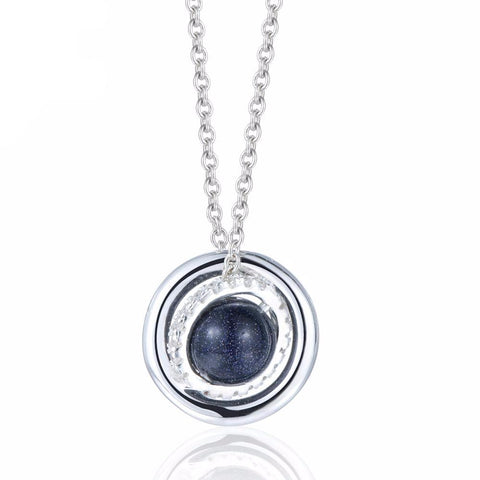 Planet Pendants Necklace