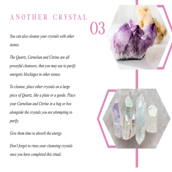 Ways To Cleanse Your Crystals