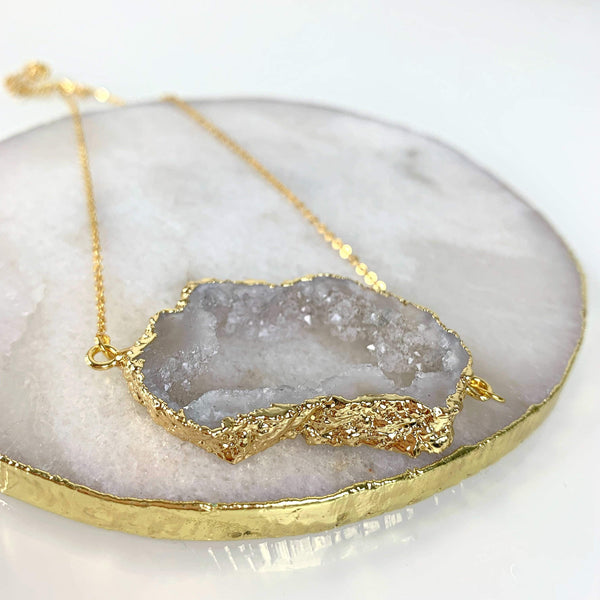 Golden Halo Necklace - Beau Life