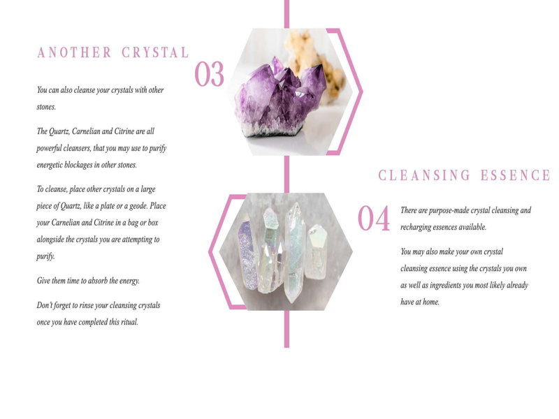 4 Ways To Cleanse Your Crystals - Beau Life