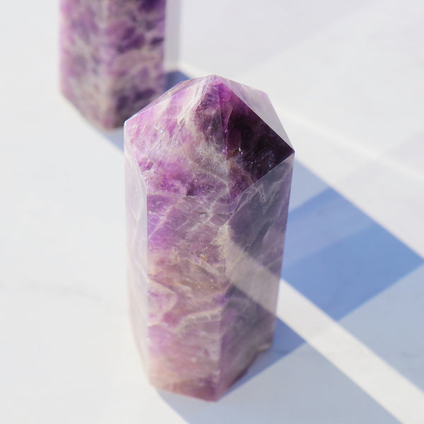 Amethyst Crystal Point Large