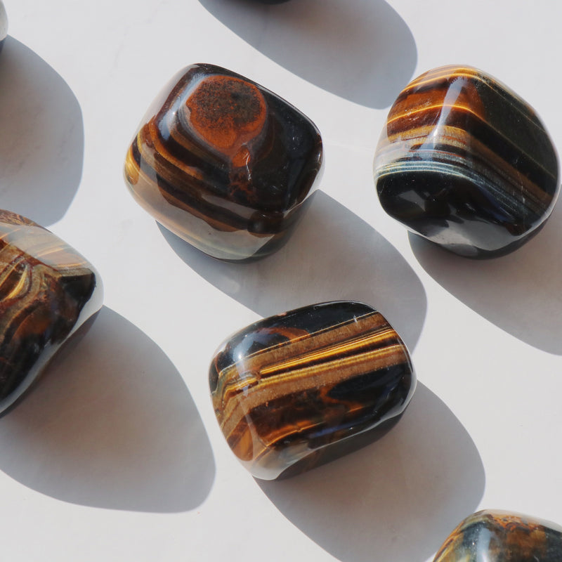 Tiger Eye Polished Crystal - Beau Life