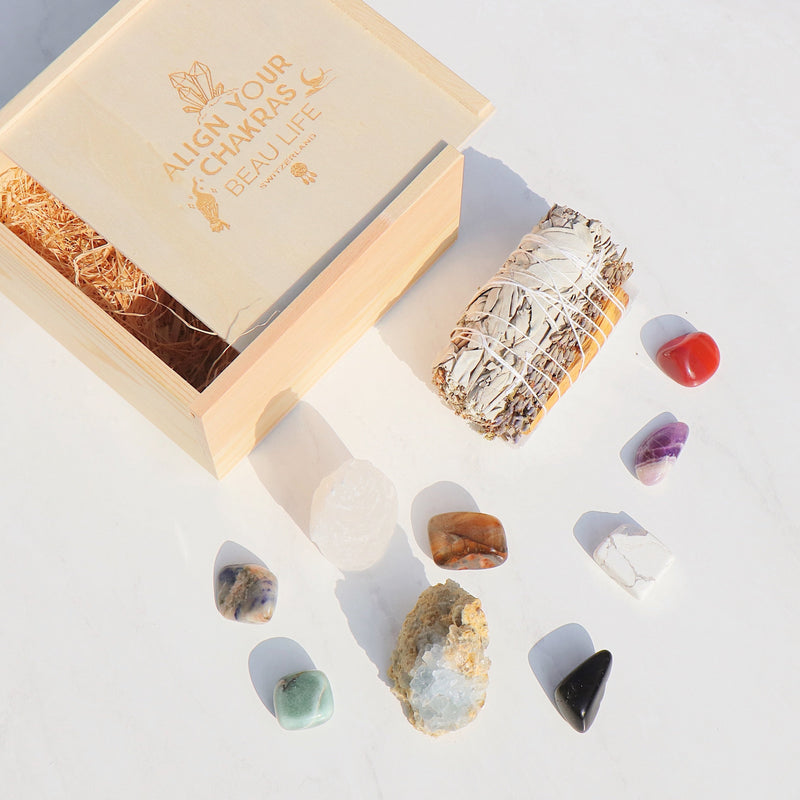 The Meditation Chakra Set - Beau Life