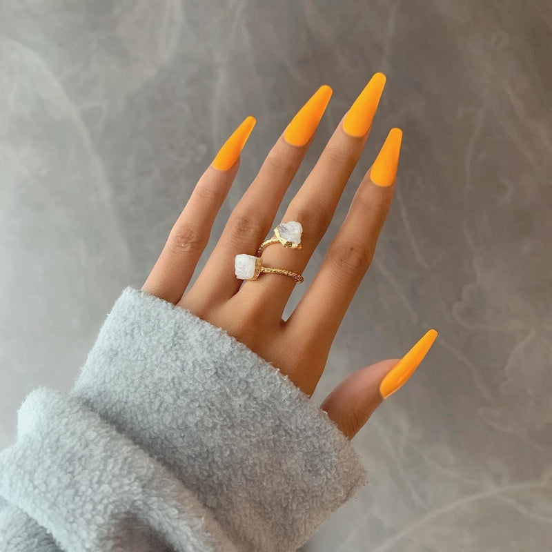 Empress Moonstone Ring In Gold - Beau Life