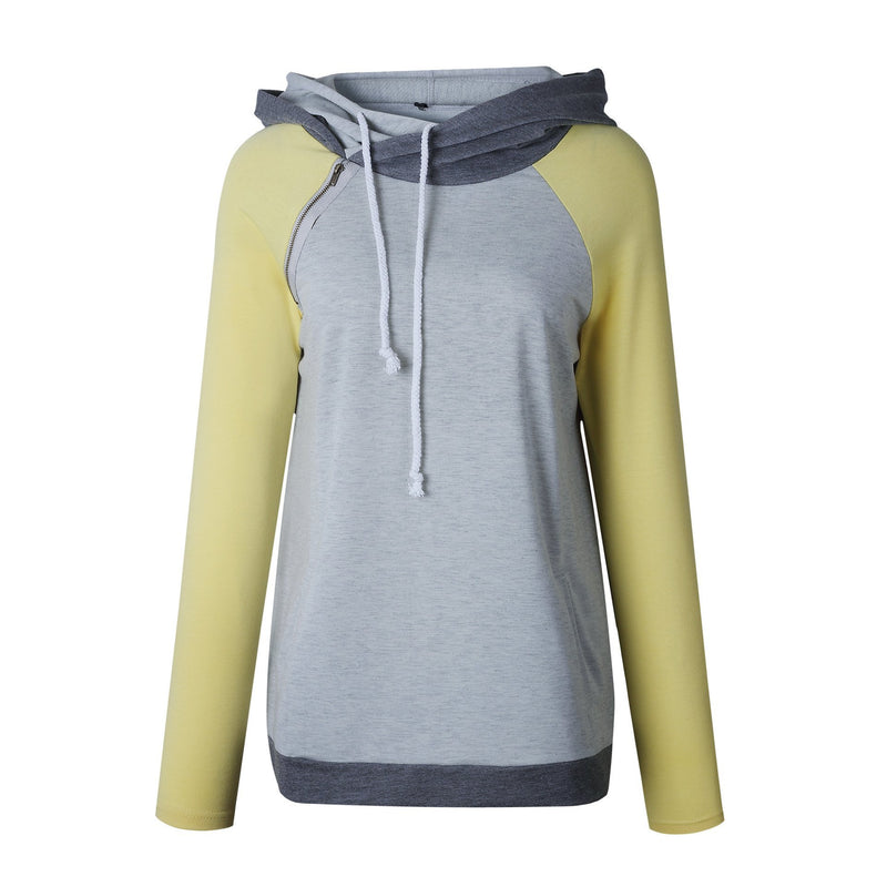 Hooded Sweatshirt With Pockets - fashionshoeshouse