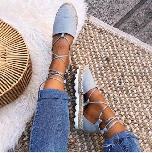 Lace-Up Summer Chunky Sandals - fashionshoeshouse