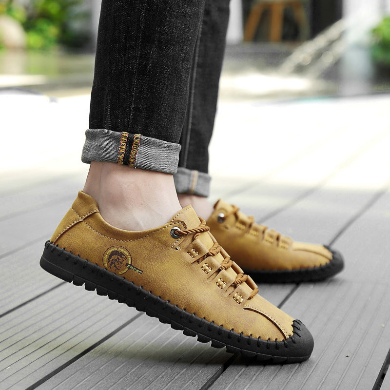 Men Large Size Stitching Hollow Out Breathable Water Sandals - fashionshoeshouse