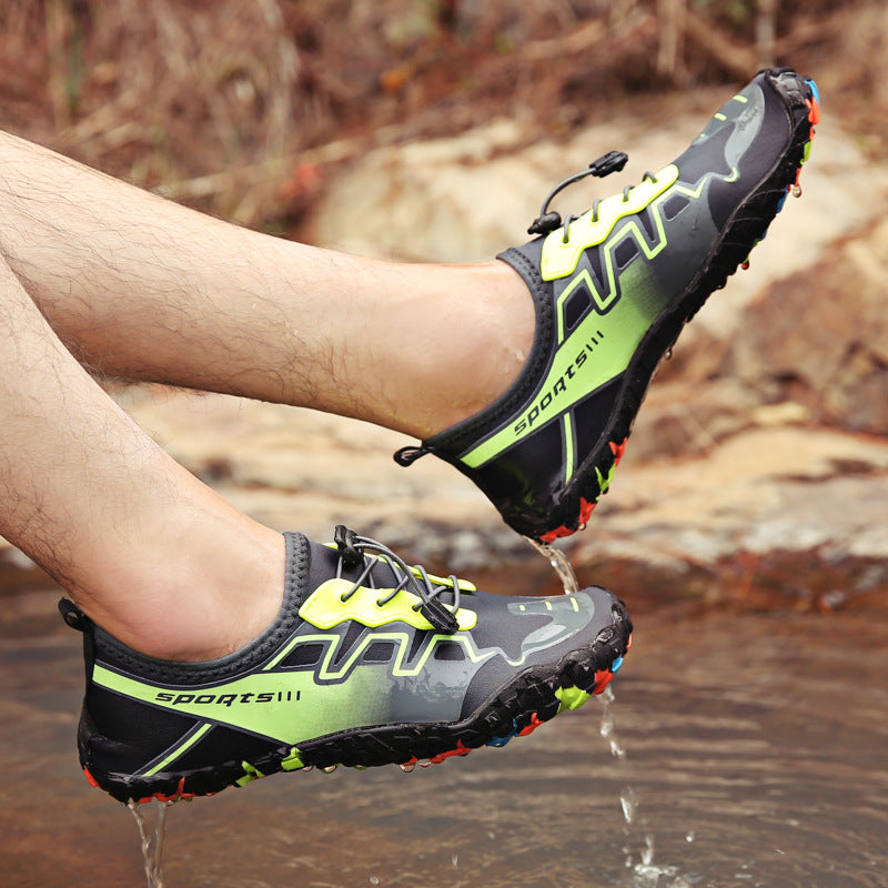 Men Sport Shoes Outdoor Five-finger Barefoot Hiking Sandals - fashionshoeshouse