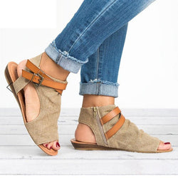 Large Size Women Roman Sandals - fashionshoeshouse