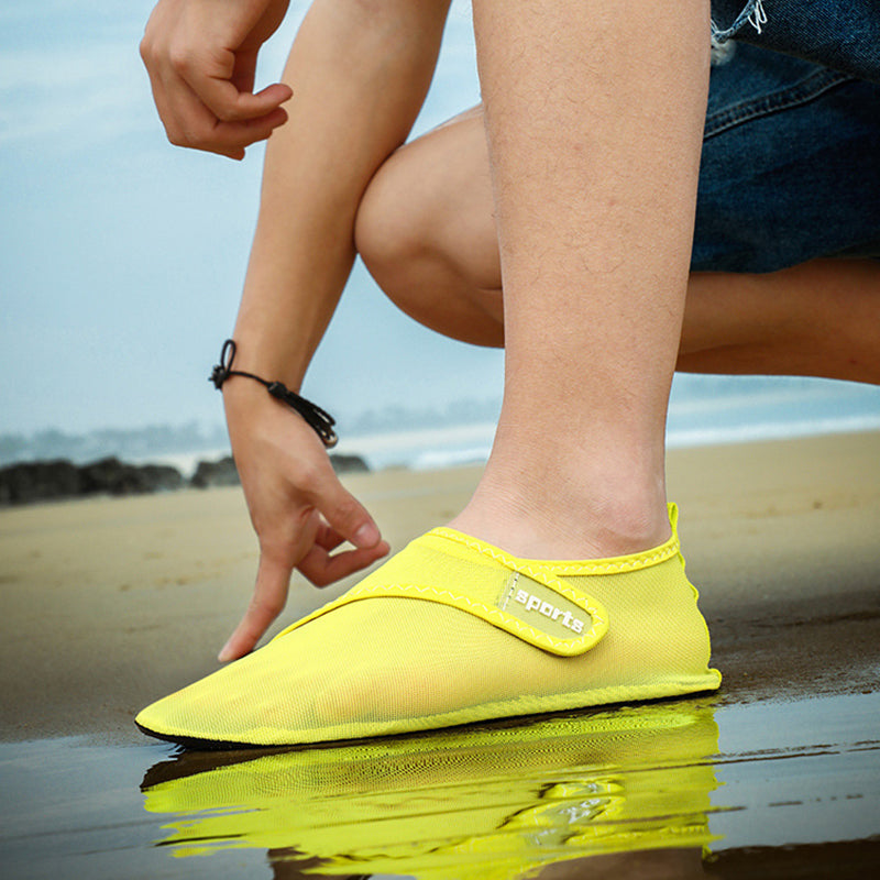 Women Barefoot Mesh Quick-Dry Water Beach Swim Shoes - fashionshoeshouse