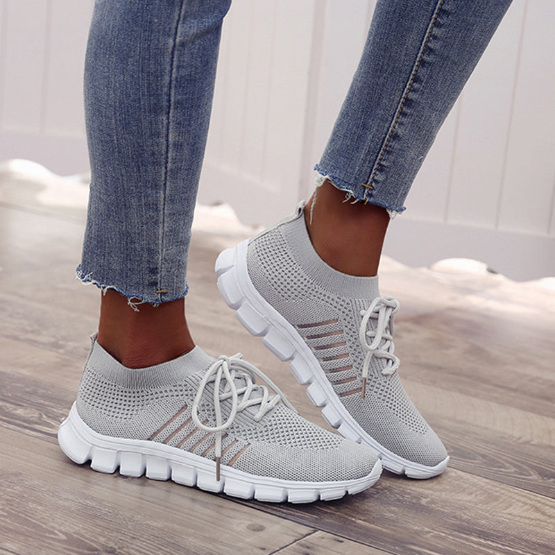Women Fashion Slip On Shoes Athletic Sneaker - fashionshoeshouse
