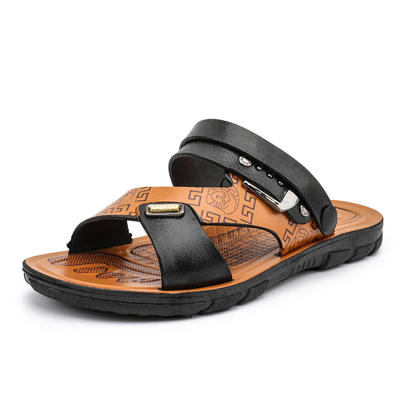 Summer Beach Casual Men's Slide Sandals