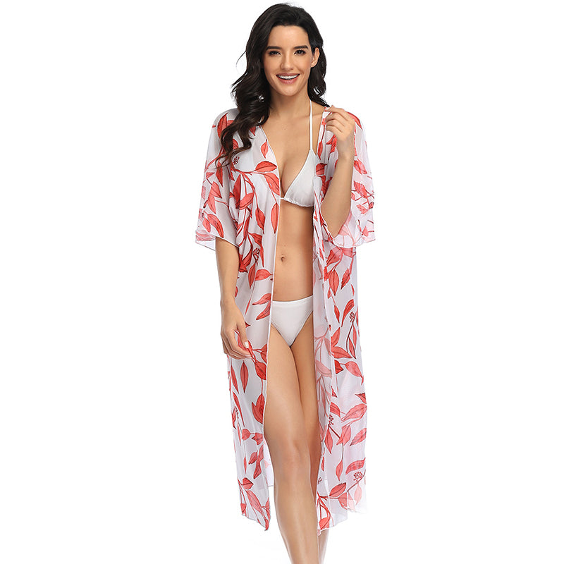 Sun Protection Cover Ups Full Coverage Swimsuit - fashionshoeshouse