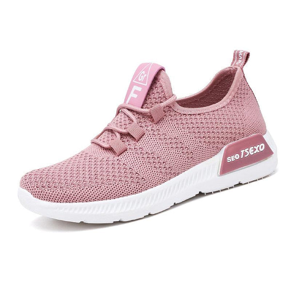 Women's breathable mesh sneakers casual comfort walking shoes