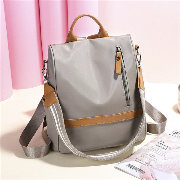 Women Anti-theft Backpack Oxford Cloth Leisure Multi-function Shoulder Bags - fashionshoeshouse
