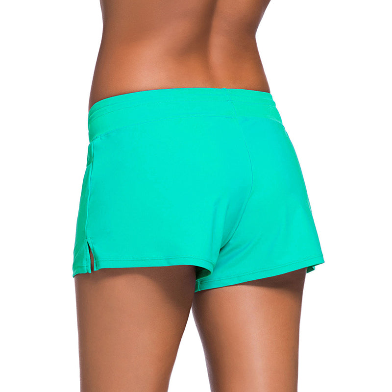 Women Summer Beach Swimming Trunks One Piece Swimsuits - fashionshoeshouse