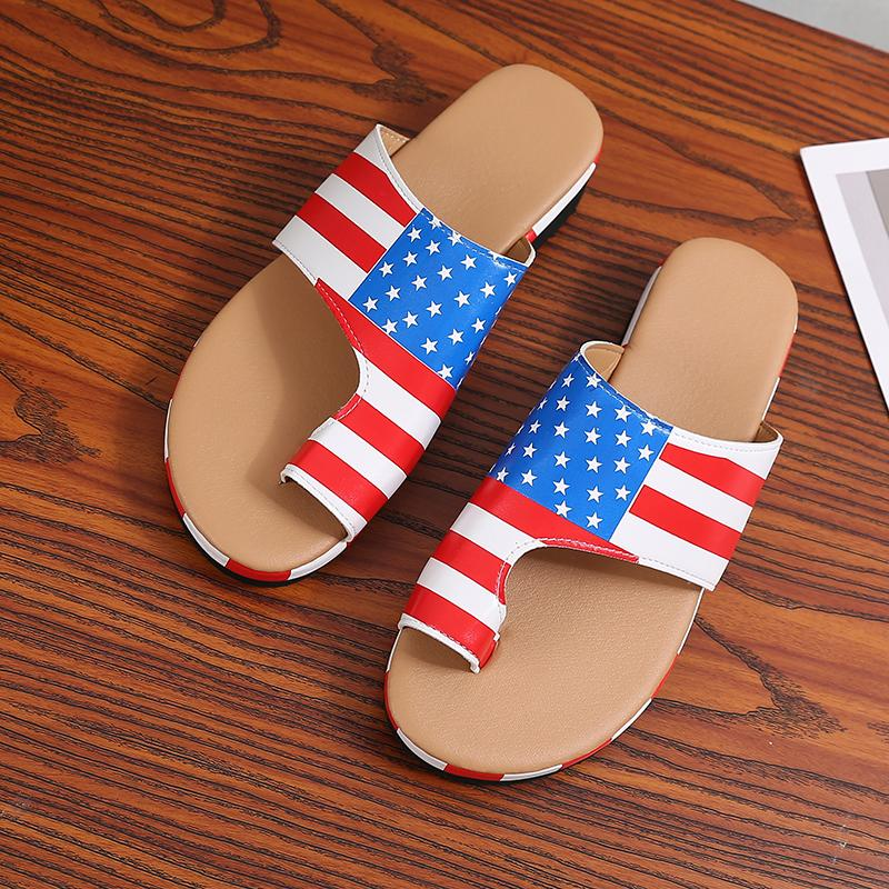 Women Slides Beach Soft Comfy Platform Slipper Slide Sandals - fashionshoeshouse